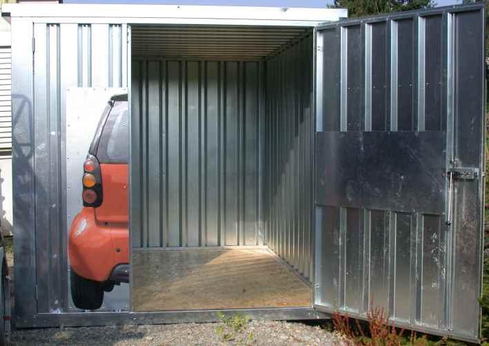 Garagen Container smartgarage offenes tor fertig ebay 1 jpg