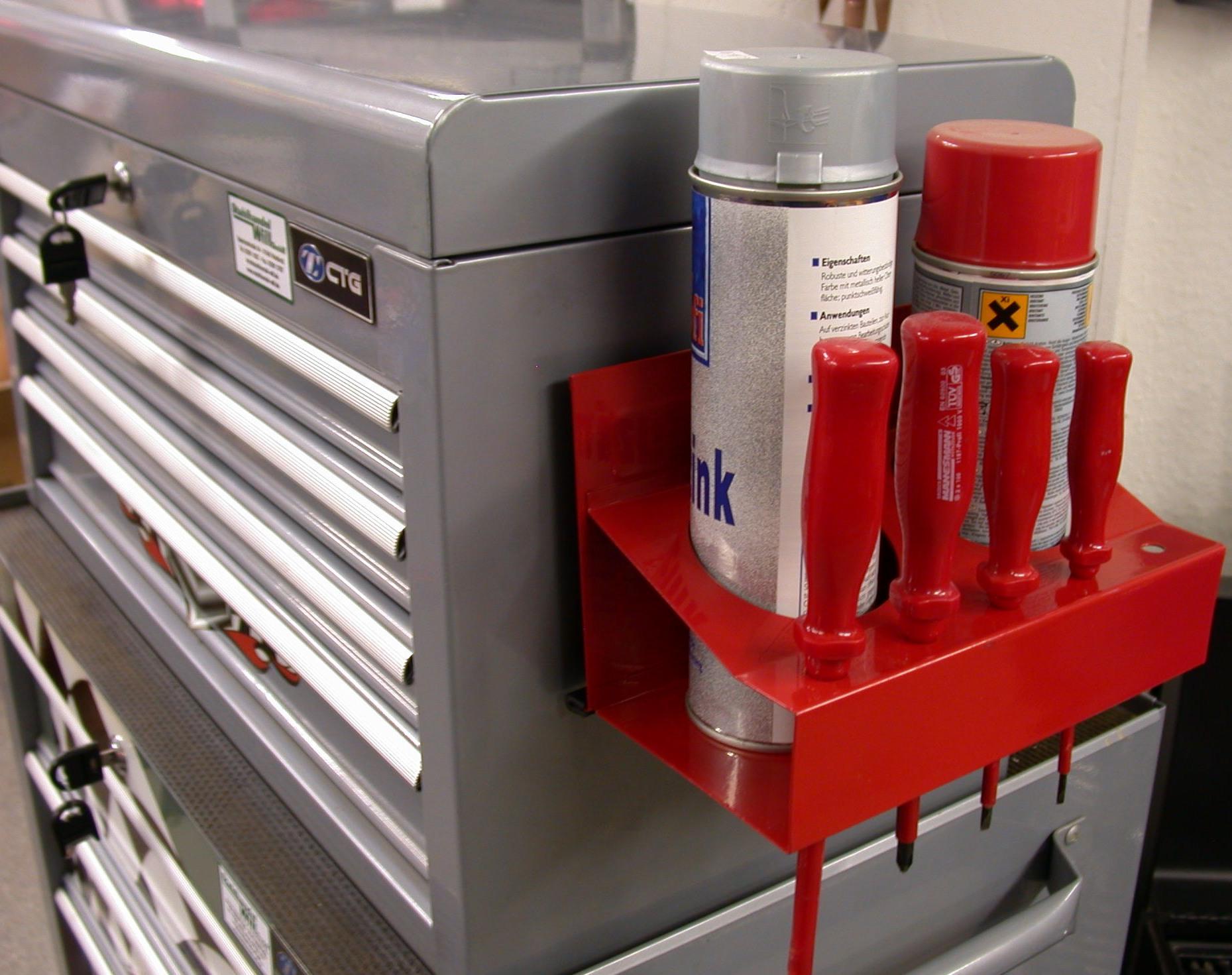 magnet spr hdose dosenhalter werkzeugwagen spraydosen tool werkzeugkiste kaufen bei. Black Bedroom Furniture Sets. Home Design Ideas
