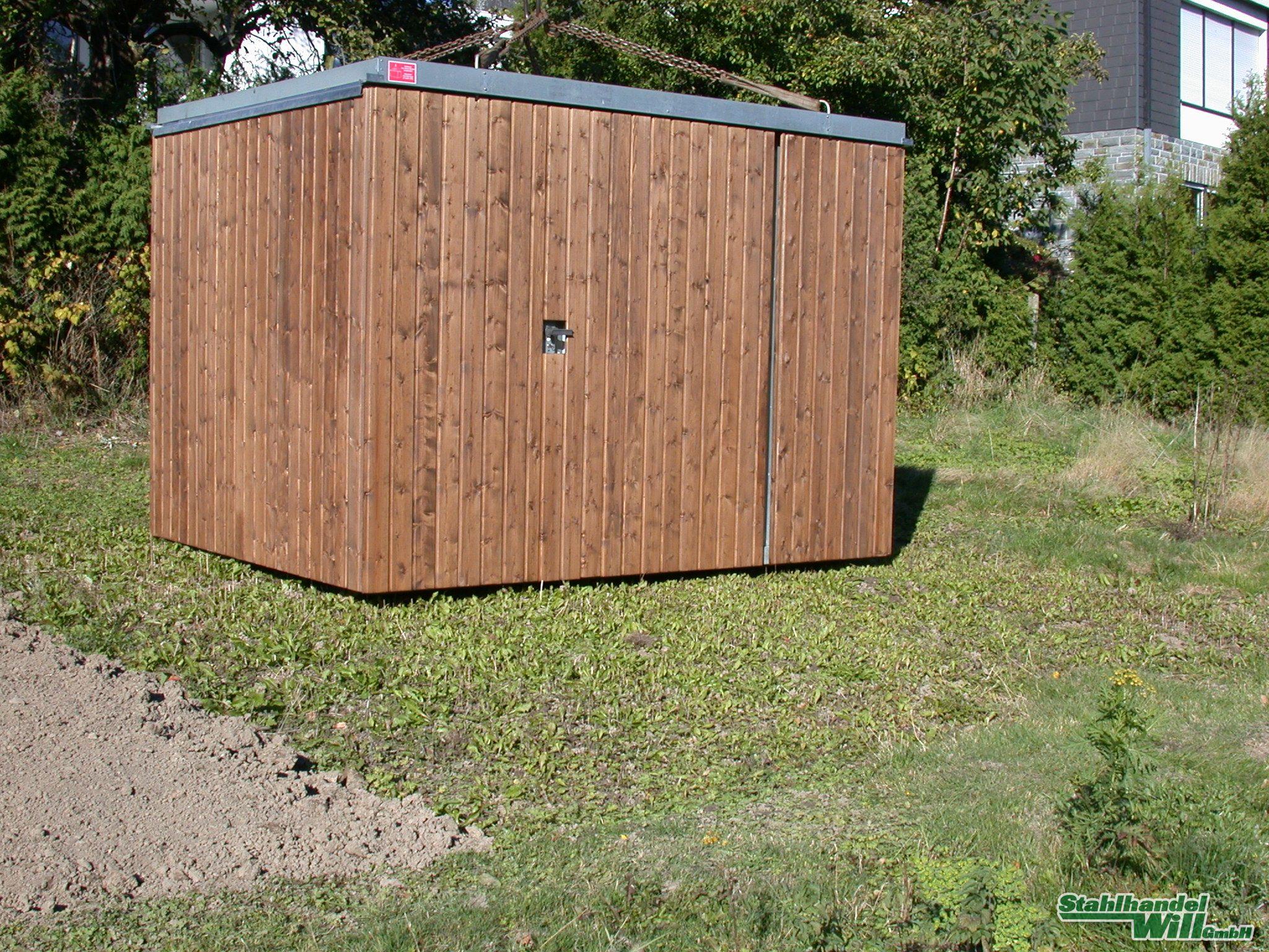 Container Lagerhalle Bauwagen Halle Gartenhaus Garage Lagerraum