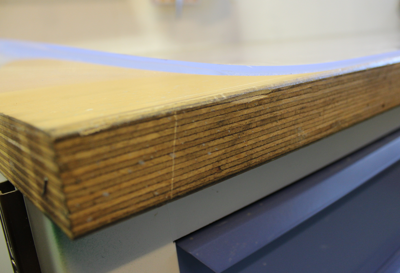 how to fix a warped cutting mat